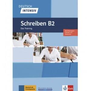 Книга Deutsch intensiv Schreiben B2 Das Training. ISBN 9783126750448