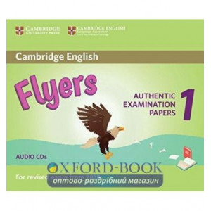 Cambridge English Flyers 1 for Revised Exam from 2018 Audio CDs (2) ISBN 9781316635995