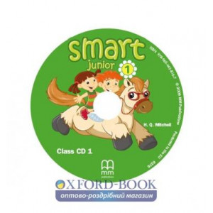 Книга Smart Junior for Ukraine 1A Class Audio CD ISBN 9786180519273