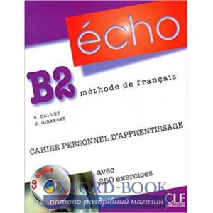 Echo B2 Cahier dexercices + CD audio + corriges ISBN 9782090385618