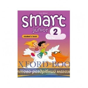 Книга Smart Junior 2 Students Book Ukrainian Edition + ABC book ISBN 2000096220519