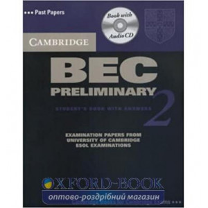 Підручник Cambridge BEC 2 Preliminary Students Book with answers and Audio CD ISBN 9780521544511