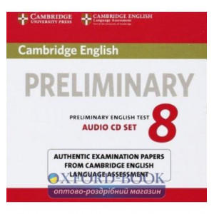 Cambridge English Preliminary 8 Audio CDs ISBN 9781107672437