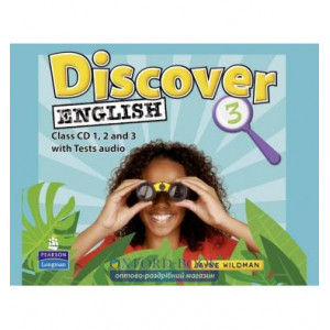 Discover English 3 Class CDs ISBN 9781405866507
