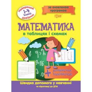 Математика в таблицах и схемах 1-4 классы Лучший справочник