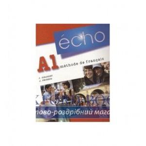 Echo A1 Livre de L`eleve + portfolio + DVD-ROM ISBN 9782090385632