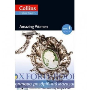 Amazing Women with Mp3 CD Level 1 MacKenzie, F ISBN 9780007544936