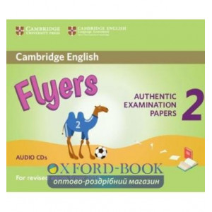 Cambridge English YLE Flyers 2 for Revised Exam 2018 Audio CDs ISBN 9781316636312