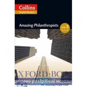 Amazing Philanthropists with Mp3 CD Level 3 MacKenzie, F ISBN 9780007545049