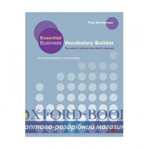 essential business vocabulary builder with Audio CD ISBN 9780230407619
