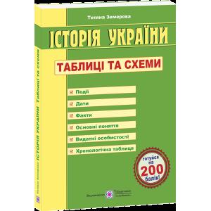 ЗНО Історія України Таблиці та схеми. Земерова 3-е видання