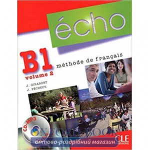 Echo B1.2 Livre de L`eleve + Mp3 CD ISBN 9782090385755