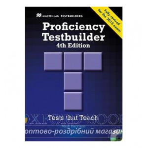 Тести Proficiency Testbuilder 4th Edition without key with Audio CDs ISBN 9780230436930