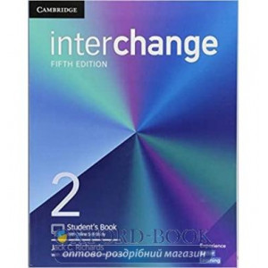 Книга Interchange 5th Edition 2 Students Book with Online Self-Study ISBN 9781316620236
