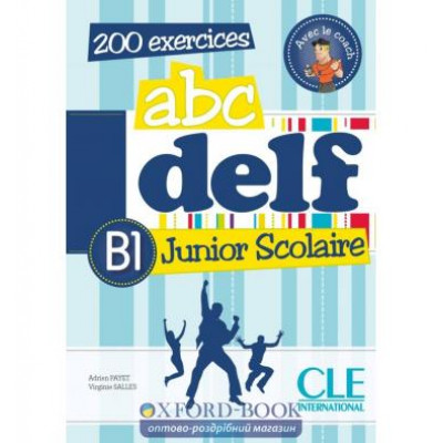 ABC DELF Junior scolaire B1 Livre + DVD-ROM + corriges et transcriptions Chapiro, L ISBN 9782090381788 цена в Украине