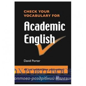 Книга Check Your Vocabulary for Academic English ISBN 9780230033641
