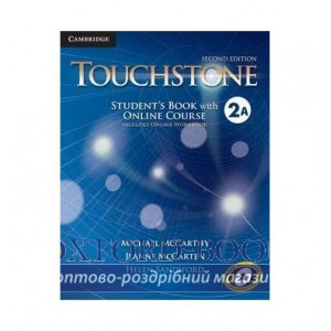 Книга Touchstone Second Edition 2 Students Book with Online Course A (Includes Online Workbook) ISBN 9781107498761