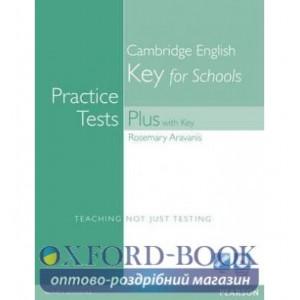 Книга KET for Schools Practice Tests Plus + key + CD ISBN 9781408267929