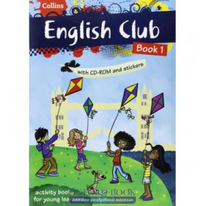 English Club Book 1 with CD-ROM & Stickers McNab, R ISBN 9780007488599