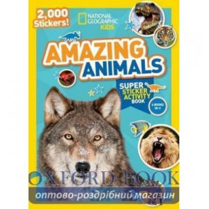 Книга Amazing Animals ISBN 9781426321078