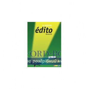 Книга Edito Le Nouvel B1 Pack Numerique Premium ISBN 9782278076697