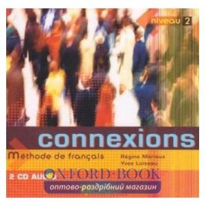 Connexions 2 CD audio ISBN 9782278055524