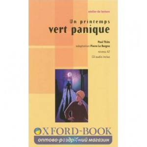 Atelier de lecture A2 Un printemps vert panique + CD audio ISBN 9782278066650