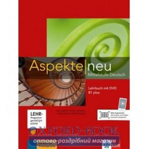 Aspekte 1 Neu B1+ Lehrbuch mit DVD ISBN 9783126050159