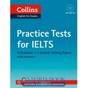 Тести Practice Tests for IELTS with Mp3 CD ISBN 9780007499694