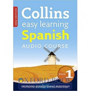 Аудио диск Collins Easy Learning Spanish Audio Course New Edition Stage 1 ISBN 9780007521494