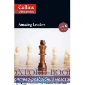 Amazing Leaders with Mp3 CD Level 4 MacKenzie, F ISBN 9780007545070