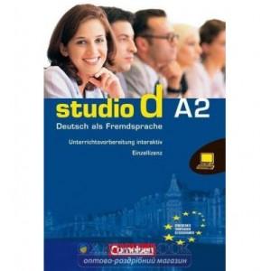 Studio d A2 Digitaler stoffverteilungsplaner auf CD-ROM Funk, H ISBN 9783060206087
