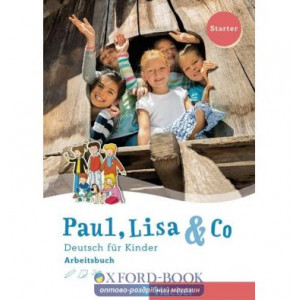 Робочий зошит Paul, Lisa and Co Starter Arbeitsbuch ISBN 9783190115594