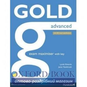 Книга Gold Advanced Maximiser with Key ISBN 9781447907060