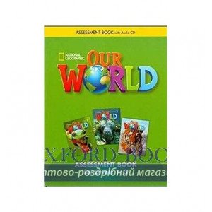 Our World 1-3 Assessment Book with Assessment Audio CD Crandall, J ISBN 9781285456201