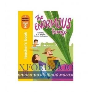 Книга для вчителя Level 2 The Enormous Turnip teachers book ISBN 9786180525069