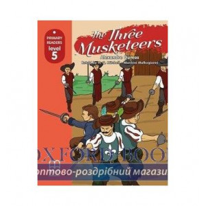 Level 5 The Three Musketeers with CD-ROM Dumas, A ISBN 9786180525205