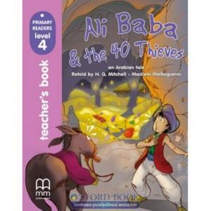 Книга для вчителя Level 4 Ali Baba teachers book Mitchell, H ISBN 9789604432936