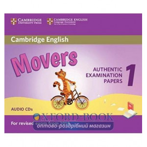 Cambridge English Movers 1 for Revised Exam from 2018 Audio CDs (2) ISBN 9781316635988