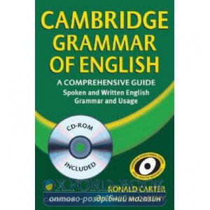 Cambridge Grammar of English A Comprehensive Guide with CD-ROM ISBN 9780521857673
