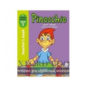 Книга для вчителя Level 1 Pinocchio teachers book ISBN 9789604783045