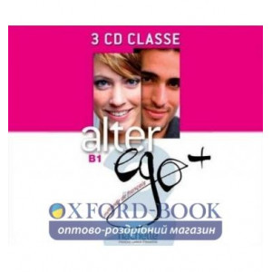 Alter Ego+ 3 CD Classe ISBN 3095561960136