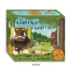 Книга The Gruffalo: Book and Toy Gift Set Donaldson, J. ISBN 9781509851867