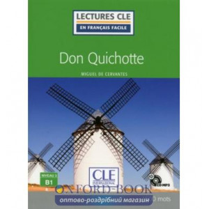 LCFB1/1500 mots Don Quichotte Livre + CD Cervantes, M ISBN 9782090317336