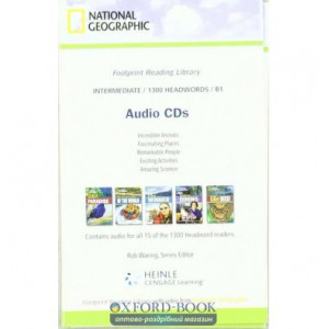 Level 1300 B1 Audio CDs Waring, R ISBN 9781424012879