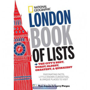 Книга London Book of Lists ISBN 9781426213823