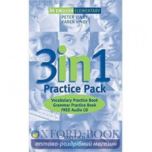 In English Elementary Practice Pack + Audio CD ISBN 9780194377454