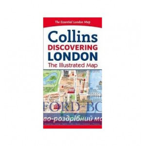 Книга Collins Discovering London. The Illustrated Map Beddow, D. ISBN 9780008214166