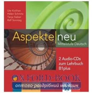 Aspekte 1 Neu B1+ 2 CDs zum Lehrbuch ISBN 9783126050203