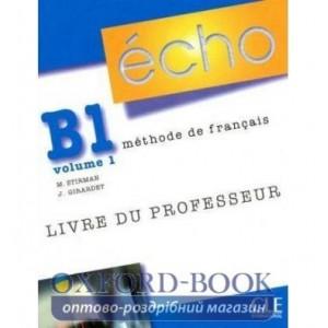 Книга Echo B1.1 Livre Professeur ISBN 9782090385748